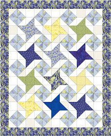 Quilty Friends: Month 11 - May 2012 - QF Friendship Star