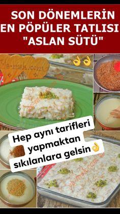 Lion Milk Dessert Recipe, How To? (A very special dessert) - Dessert Recipes Pudding Desserts, Custard Desserts, Köstliche Desserts, Best Dessert Recipes, New Recipes, Sweet Recipes, Delicious Desserts, Vegan Recipes, Trilece Recipe