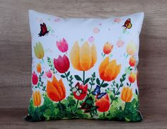 Check out this item in my Etsy shop https://www.etsy.com/listing/271866080/tulips-multicolor-cross-stitch-embroided