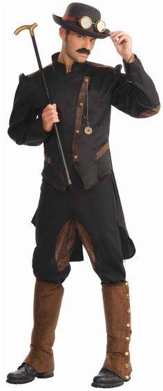 Steampunk Gentleman Adult Costume #steampunk #steam punk
