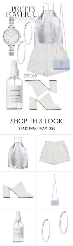 """140617"" by patttiee ❤ liked on Polyvore featuring H&M, BCBGeneration, Maryam Nassir Zadeh, Yves Saint Laurent, French Girl, Vita Fede and Kate Spade"