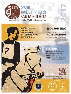 Raide Hípico de Santa Eulália disputa-se amanhã, sábado   Portal Elvasnews