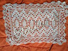 Cubrebandejas Crochet