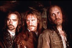 Man in the Iron Mask's Jeremy Irons, John Malkovich, and Gerard Depardieu were all hot men/characters in the Man in the Iron Mask movie.