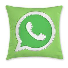 iDesignMe-Wapp_front http://idesignme.eu/2013/08/cuscini-app-di-carillon-design/ #cuscini #pillow #app #geek #technology #trends #cool #furniture #home #homedecor #design #whatsApp