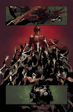 I Vampire, togheter Demon Knights are my regular books in DC Comics. I Vampire has one of the best horror s. Best Horrors, Sketch Ideas, Fantasy Armor, Comic Page, Werewolves, Vertigo, Vampires, Comic Strips, Rage