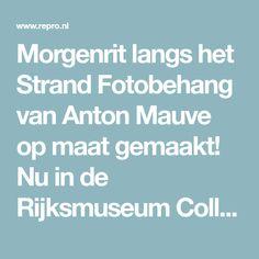 Morgenrit langs het Strand Fotobehang van Anton Mauve op maat gemaakt! Nu in de Rijksmuseum Collectie - Repro.nl