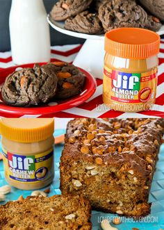 Recipes using Almond Butters and Cashew Butters.