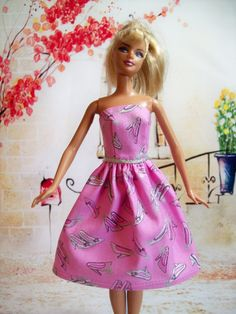 Etsy listing at https://www.etsy.com/listing/234836378/handmade-barbie-clothes-barbie-dress