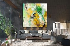 Large Painting on Canvas,Original Painting on Canvas,texture art painting,acrylic abstract,canvas custom art FY0001