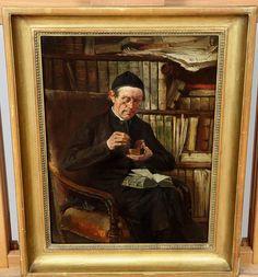 Un descanso en la lectura. Magnifica pintura realizada al oleo por Hermann Ziebland (Würzburg 1853, München 1896) que recientemente hemos adquirido en nuestro anticuario. Granada, Painting, Art, Reading, Grenada, Painting Art, Paintings, Kunst, Paint