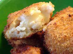 Arancini Day 84: Honey, Soy & Ginger Salmon Bites, Arancini and Beef Tataki with Ponzu sauce