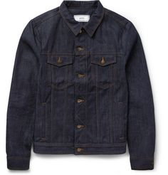 AMI Dry-Denim Jacket