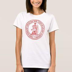 Chickasaw Seal T-Shirt indians nation band tribe