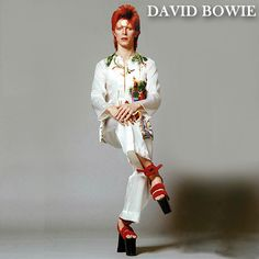 Year: 1973 Model(s): David Bowie. (Fated to Pretend) Year: 1973 Model(s): David Year: 1973 Model(s): David Bowie.