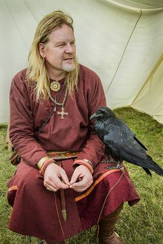 The Viking and the Raven
