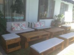 (68) LinkedIn Pallet Furniture, Outdoor Furniture Sets, Outdoor Decor, Rooftop, Projects, Home Decor, Log Projects, Rooftops, Blue Prints