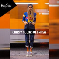 #Ladies make your #Fridays #Colourful by #shopping right here @ www.happysocks.in!! #Happysocks #HappySocksIndia #Socks