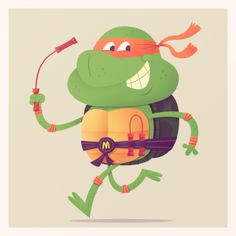 ninja turtle illustration
