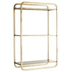 Iron shelf Madam Stoltz Adult- A large selection of Design on Smallable, the Family Concept Store - More than 600 brands. Hanging Shelves, Wall Shelves, Shelving, Mounted Shelves, Kitchen Shelves, Antique Metal, Brass Metal, Moving Furniture, Iron Shelf