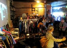 The Vintage Experience Night Market in Cape Town, South Africa.