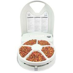 Comedouro Automático Amicus Eatwell Lite 5 Refeições O Comedouro Automático Amicus Eatwell Lite 5 Refeições traz praticidade e facilidade para alimentar seu pet na hora exata e na quantidade ideal. POR R$ 759,00 OU 6x de R$ 126,50