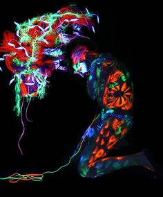 Blacklight Body Art