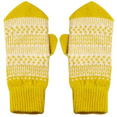 Cute Nordic-inspired pointed lambswool mittens with a repeating dash - dot pattern to keep your fingers cosy and warm. 100% Lambswool, knitted in Scotland.