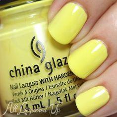 China Glaze Sun Upon My Skin swatch via @AllLacqueredUp