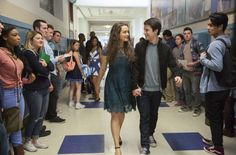 Here is a new one! Clay and Hannah happily walking down the halls of Liberty High, hand in hand. Had to walk backwards to get this shot, loved every second of it! #setphotographer #setphotography #13reasonswhy #marincounty #highschool #love #bethdubberphotography @13reasonswhy #HannahBaker #setlife #behindthescenes