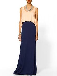 Hive & Honey Double Layer Knit Maxi   I want to live in this dress! No wonder it's almost sold out