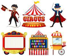 RED WAGON T-shirt con Stampa Circo Bambina