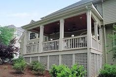 Image result for under tall deck