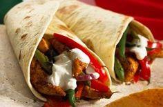 The Hairy Bikers' chicken fajita, Mexico, World Cup recipes
