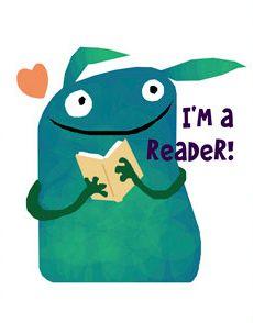 i'm a reader! so cute!