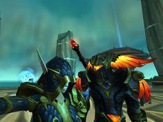 DS with a guildee, #selfie #belfie #Warcraft