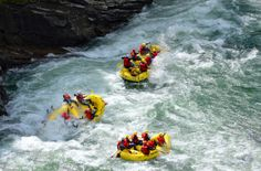 Want some action and a close encounter with Norwegian nature? Try rafting in the Sjoa river. There are several companies that offer trips down the river - one of them is listed below. Photo: Copyright Sjoa Rafting.