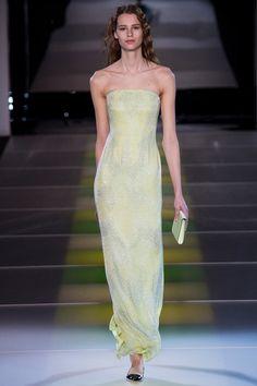 Giorgio Armani | Fall 2014 Ready-to-Wear Collection | Style.com UPDATE: worn by Cheryl Fernandez-Versini and Valentina Corti