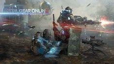 Metal Gear Online Concept Art, Jordan Lamarre-Wan on ArtStation at https://www.artstation.com/artwork/9RbwR