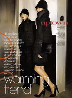 History of Vogue US Craig Mcdean, Vogue Us, Winona Ryder, Canada Goose Jackets, Winter Jackets, Warm, History, Coat, Fashion