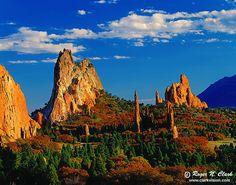 Garden of the Gods in Colorado Springs, Colorado - such a cool place!