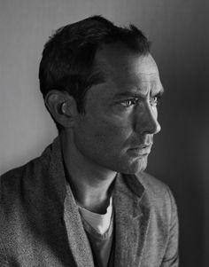 Jude Law. Photo by Nadav Kander for Telegraph magazine.