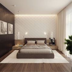 Bedroom Interior Design Ideas (1004)   https://www.snowbedding.com/