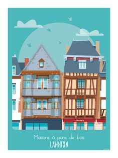 All Over The World, Around The Worlds, Rouen, Le Havre, All Poster, Paris, Brittany, Vintage Posters, Illustrations