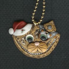 Steampunk Christmas Kitty