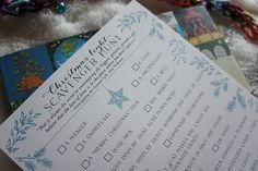 Christmas Lights Scavenger Hunt - for a family car ride - The Free Tools & Framables Library | A Holy Experience