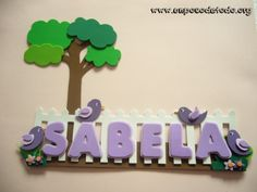 www.unpocodetodo.org - Cartel para Noe y Marcos - Carteles - Goma eva Decoupage, Projects To Try, Banner, Birthday Cake, Clay, Baby Shower, Crafts, Decorated Notebooks, Craft