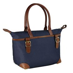 The Collection Nylon mid tote handbag offers styles which can be used daily for a multitude of tasks, from school run to coffee with friends, combining form and function. The bags are made using a waterproof and washable material, with features you won't find on cheaper nylon bags. Offered in Olive and Navy.