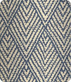 OBSESSED with this Tahitiona Stitch cotton in Sapphire, LS Fabrics, for my bergere chairs!
