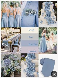Planning a lovely spring or summer wedding. These soft colors are perfect for the romantic bride! wedding colors september / fall color wedding ideas / color schemes wedding summer / wedding in september / wedding fall colors Wedding Ceremony Ideas, Wedding Scene, Wedding Receptions, Grey Wedding Theme, Wedding Ideas Blue, Trendy Wedding, Diy Wedding, Wedding 2017, Decor Wedding